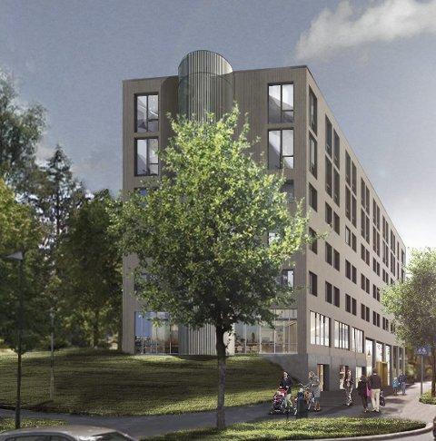 FORT: Utbyggerne av sentrumshotell vil komme i gang med reguleringen så fort som mulig.TEGNING: LINK ARKITEKTUR