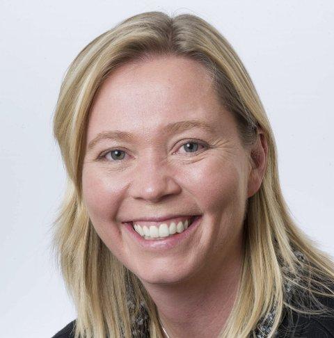 PÅ TOPP: Hilde Sørli topper Venstres liste.FOTO: JENS HAUGEN