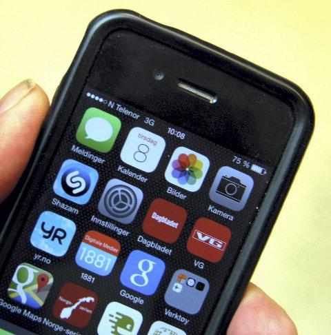 SVINDEL: Mannen svindlet til seg mobiltelefoner ved hjelp av falske kvitteringer.