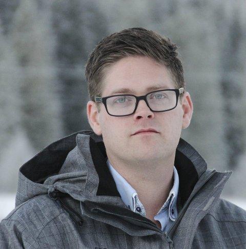 HE-STYRELEDER: Bjørn Niklas Sjøstrøm. ARKIVFOTO