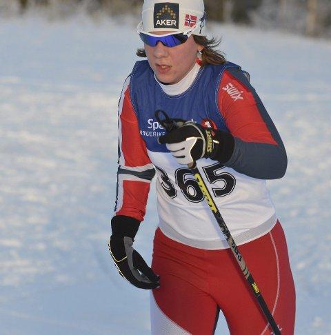 PÅ LANDSLAG: Anne Karen Olsen, Svea Skilag.