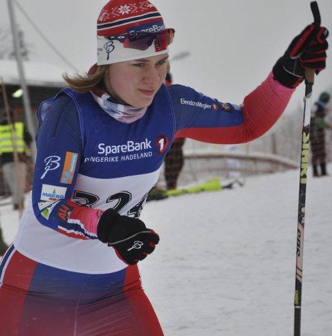 VANT: Anne Karen Olsen fra Svea skilag.