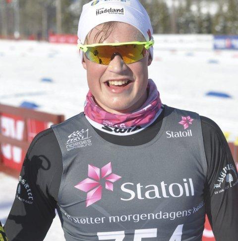 TESTER FORMEN: Johannes Bjertnæs er påmeldt i eldste juniorklasse på Lygna.