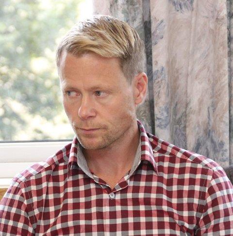 PRESISERER: Lunner-ordfører Harald Tyrdal (Ap). ARKIVFOTO