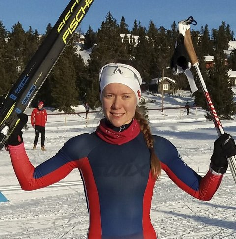 GLAD: Marie Renée Sørum Gangsø ble nummer 16.