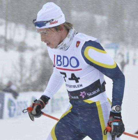 TOPPLØP: Karstein Johaug jr. ble nummer åtte i norgescupen.