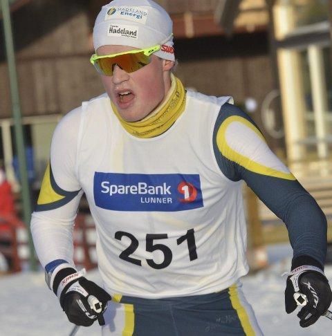SKUFFET: Johannes Bjertnæs ble nummer 48 på 10 kilometer.