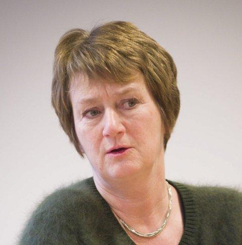 I retten: Rådmann Gudrun H. Grindaker får seks uker i retten.