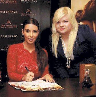 FIKK MØTE KARDASHIAN: Da Isabelle Jensen bodde i London fikk hun møte Kim Kardashian to ganger.