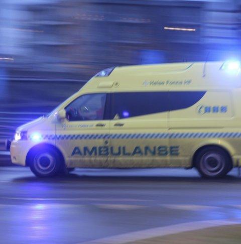 Ambulanse: Ei viktig sak for ungdomsrådet. (Arkivfoto)