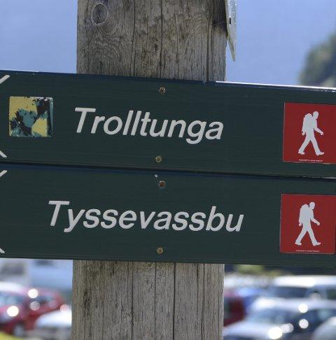 Turisme: Fører til utfordringar på fleire område.