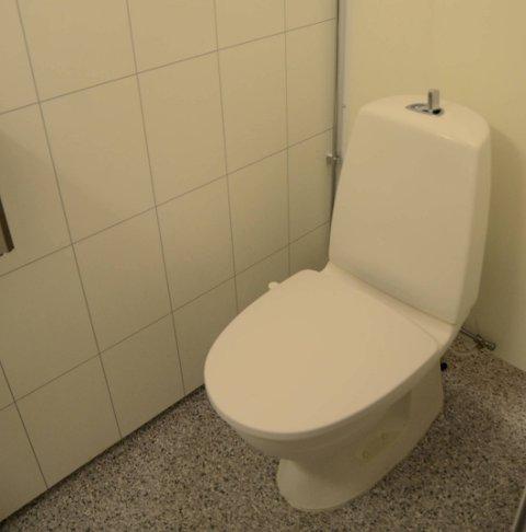 Tett toalett på Sekse.
