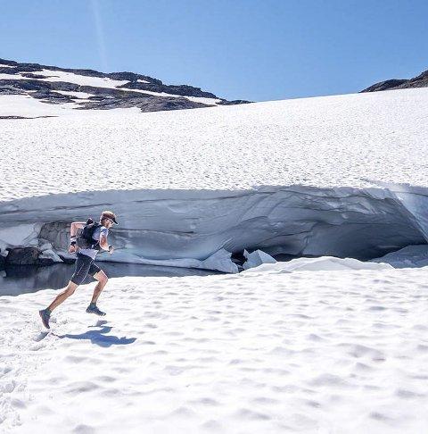 Nytt løp: Hardangerjøkulen Ultra.foto: xtremeidfjord