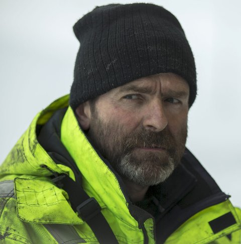 Jobb: Bjørn Lægreid driv berging på Hardangervidda