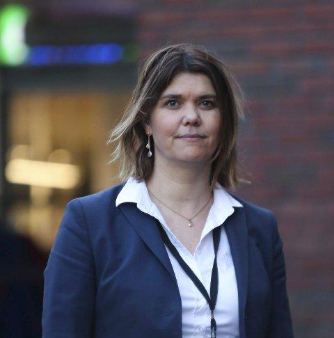 Marie Opheim: Avdelings-banksjef Odda Kinsarvik. Arkivfoto: Eivind Dahle Sjåstad