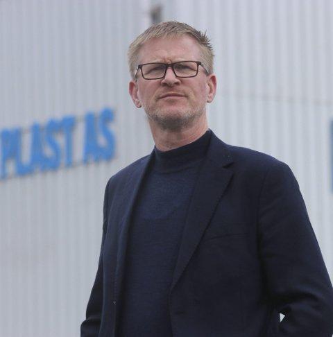 Odda Plast: Jan Jaap Boot har sluttet som daglig leder.. Arkivfoto: Eivind Dahle Sjåstad