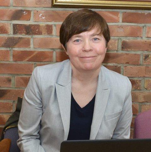 Anne Erdal: Avtroppende økonomisjef i Ullensvang herad. Foto: Ernst Olsen