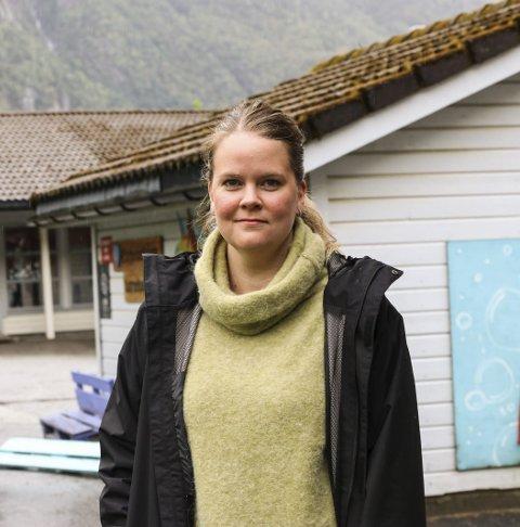 SU: Katrine Kolltveit, leiar i SU i Eitrheimsvågen barnehage.