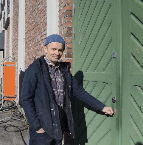 Direktør Knut Markhus er klar for å opna Kraftmuseet for publikum igjen.