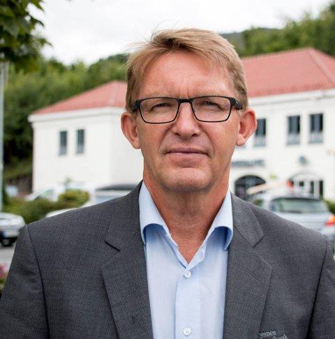 Dag Sandstå: Administrerende banksjef i Tysnes Sparebank blir innstilt som styreleder i den sammenslåtte banken. Arkivfoto: Eirik Kroken
