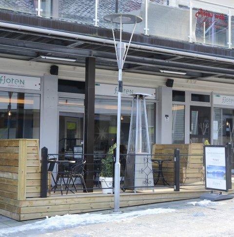 Blant dei heldige: Restauranten «Fjoren» i gågata får 300.000 kroner i koronastøtte.