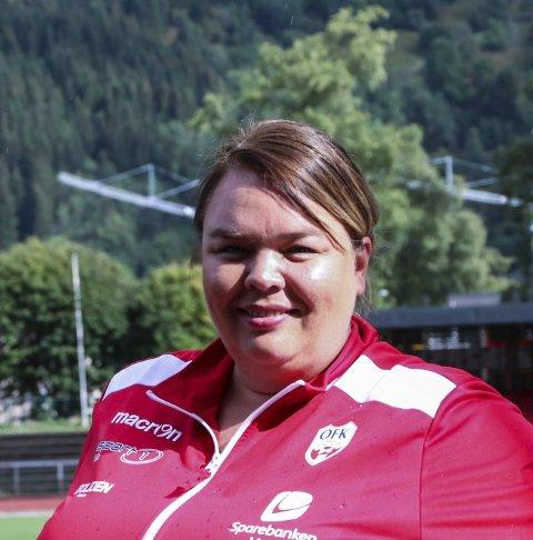 OFK: Daglig leder Guro Svenkerud Fresvik. Arkivfoto: Inga Øygard Jaastad