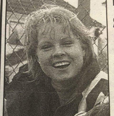 Goalgetter: Linda Smedegård fra Odda. Fra HF 20. mai 1996.