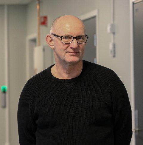 Fra konstituert: Geir Rønningen, ny rektor på Odda vidaregåande skule. Arkivfoto: Inga øygard jaastad