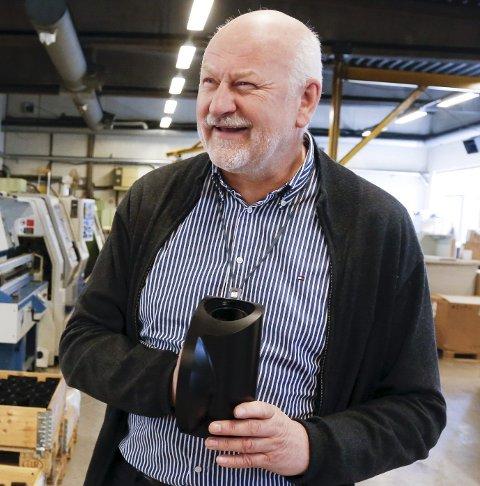 Steinsvik: Bjørn M. Apeland har utviklet Tysvær-bedriften.