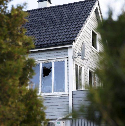 Brant: Huset ble påført skader for 2,1 millioner kroner. Foto: Grethe Nygaard