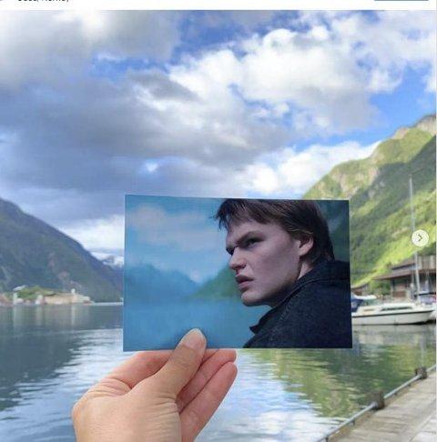 Odda på filmkartet: Location for Ragnarok. Skjermdump: Visit Norway