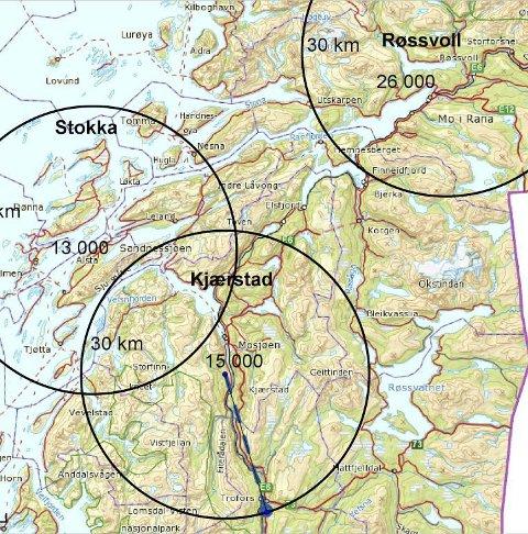 Utkant: Hauan ligger i randsonen til Helgeland. NHO Luftfart påpeker at en nedleggelse av flyplassen i Mosjøen gir økt flytransportkostnad for folk som sogner til Mosjøen.