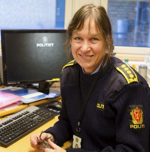 Stasjonssjef : Lisbeth Aarvik.