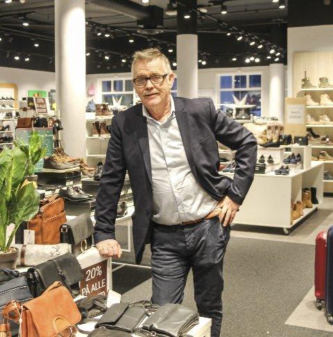 Som forventet: Harald Forbergskog om julehandelen.