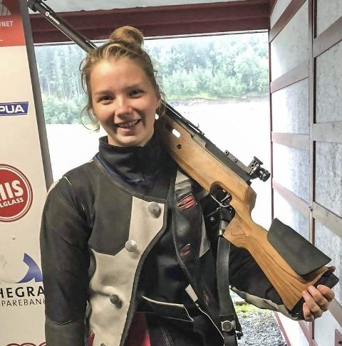 VANT: Hanna Fjordheim Gundhus vant sist helg. Foto: Eirik Blindheim