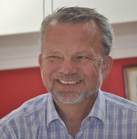 GLAD: Administrerende direktør Geir Elsebutangen.