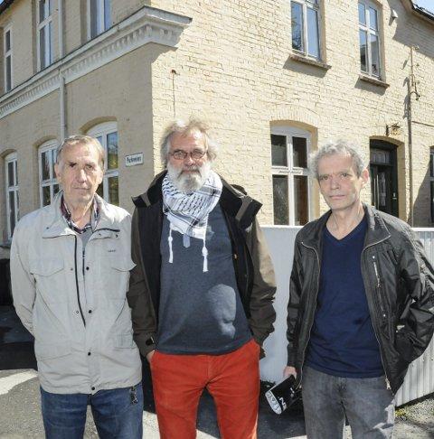 INITIATIV: Roy Isnes (t.v.), Ole Hustoft og Oddvar Einarson.