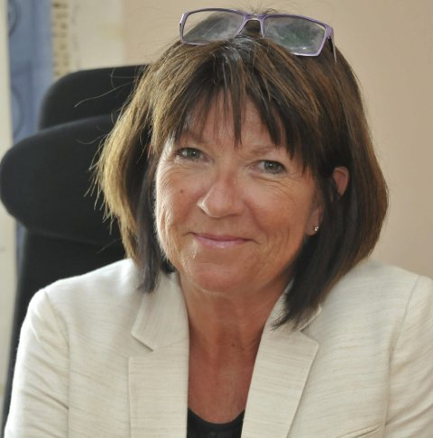 Pluss: Kommunedirektør Inger Lysa informerte om regnskapet.