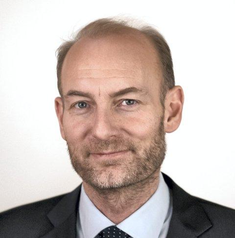 Holder foredrag: Knut Olav Åmås.