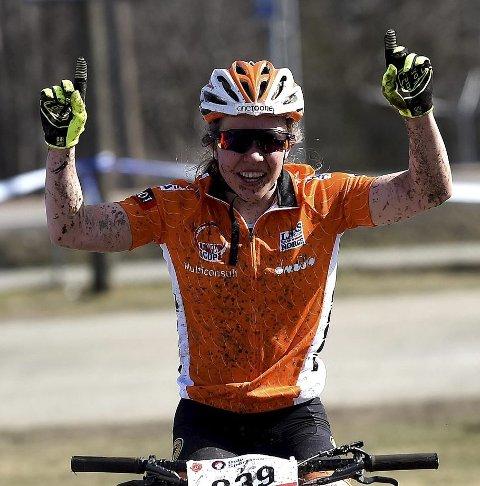 SUVEREN: Helene Marie Fossesholm vant NM.