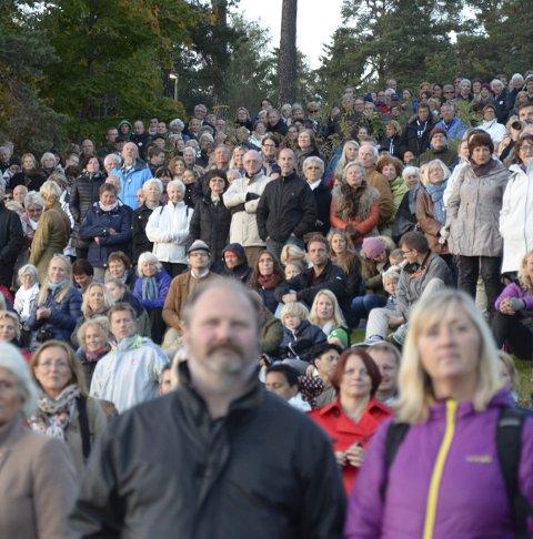 FULLT: Vil konserten trekke like mye folk som  Ekebergparkens åpning?