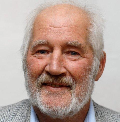 PÅ VIPPEN: Pensjonistpartiets Per Sigurd Larsen.