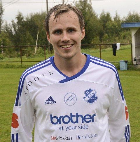 Tor Håkon Sveen sørget for utlikningen som ga redølene ett poeng i Trøndelag.