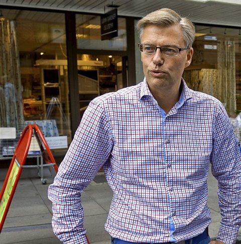 UREALISTISK: Svein Håvar Korshavn er imot parkeringshus i Røverdalen.