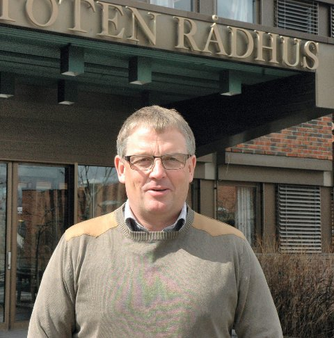 RÅDMANN: Bjørn Fauchald i Vestre Toten.Arkivbilde