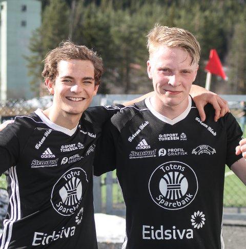 MÅLSCORERE: Simen Engelien og Sindre Haugli Pedersen scoret henholdsvis fire og tre ganger i Kolbus 16–1 seier over Nordre Land.  Kolbjørn Nilsen