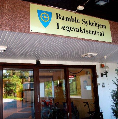 LEGEVAKT: Bamble har egen legevakt ved Bamble Helsehus.