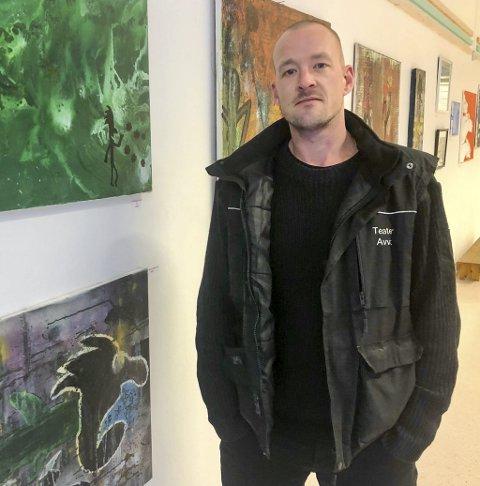 En uke med POPup: Kunstneren Tobias Vik.