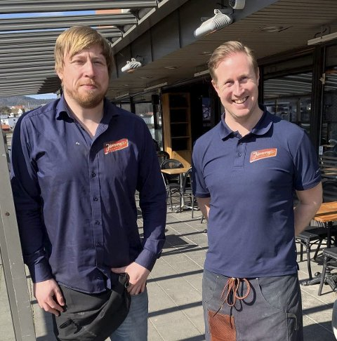 Påske: Eirik Madsen og Daniel Christensen gleder seg til påska.