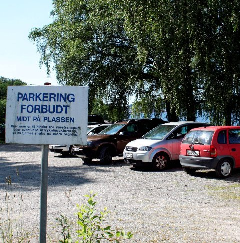 Utfart: Mange har fått p-bot på badetur. Arkivfoto. 1  Parkering
